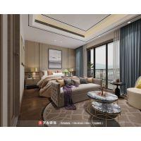 恒大世纪城洋房装修设计 渝北天古装饰跃层户型方案分享