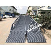 中国重型登车生产厂家、20吨电动液压款移动装卸平台报价说明、登车桥定做