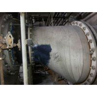 供应衬胶管道破损修补流程——管道衬胶