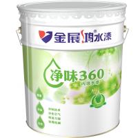 全国十大涂料品牌广东净醛环保易于施工干燥快净味360内墙水漆金展鸿水漆