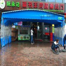 杭州房顶做推拉雨棚布上城区优质移动推拉雨棚价格