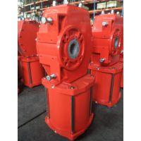 DRG01-D03-35 双作用拨叉气动执行器 大口径阀门气缸 大型气动执行器 大口径球阀气缸