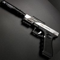 仁祥下供弹格洛克水弹枪 男孩仿真玩具枪COS影视道具 CF对战手枪