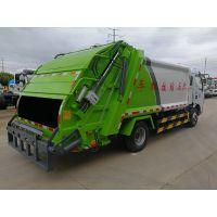 东风7方压缩垃圾车厂家价格新款后挂桶式压缩垃圾车 咨询热线:13886883785