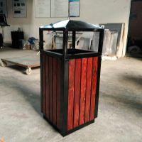 户外景区街道自然环保钢木垃圾桶 烧烤店火锅店单桶烟灰缸