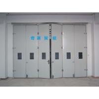 工业折叠门,电动折叠门定做,高强度抗风门,巴克曼复合材质整套门