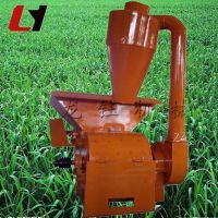 家用自动进料粉碎机 高产量带绞龙式粉碎机