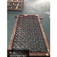 浙江精雕铝合金板雕刻屏风加工厂家,铝艺雕刻花格屏风价格