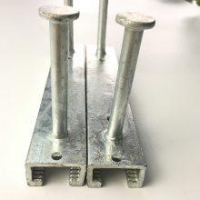 江苏现货 38/23哈芬槽 预埋件 Q235热轧槽道 管廊支架