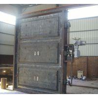 柏润 矩形气密封脱硫挡板门 圆形电动风门 旁路脱硫挡板门