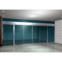 天河自动玻璃门安装,感应门,松下电机18027235186