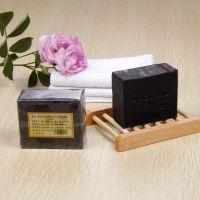 热销竹炭手工皂控油保湿香皂手工冷制皂OEM竹炭皂