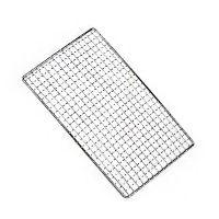 批发户外烧烤工具全套用品工具材料不锈钢色烧烤网片烤网波纹网