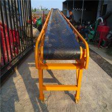 工业防滑皮带机 润众 麻包装车皮带输送机