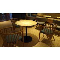 众晟家具办公会议台定制 板式洽谈会议圆桌批发 茶水间休闲桌价格