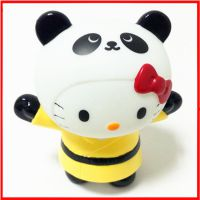 东莞搪胶玩具厂Q版红衣KT搪胶玩具公仔 卡通动漫周边搪胶玩具加工