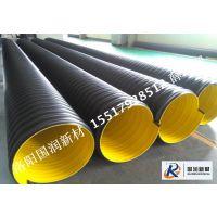 钢带增强PE螺旋波纹管制造厂家