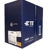 安普AMP超五类非屏蔽电缆(蓝箱)6-219586-4 305米/箱