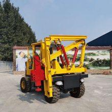 车载式公路护栏打桩机,液压护栏打桩机对于操作人员的要求须知