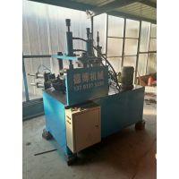 德博机械供应环卫垃圾桶设备液压拉伸翻边机图