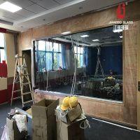 微格教室玻璃 审讯室单反玻璃 大学行为观察室单向玻璃