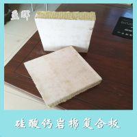 厂家直销硅钙板防火岩棉复合板 盈辉高品质硅钙岩棉板