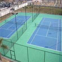 球场围网安装 体育场围网安装 球场护栏网图片