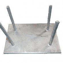 梅州-韶关-清远低价加工生产热镀锌幕墙钢板预埋件厂家