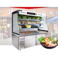 上海哪里有卖立式冷藏点菜柜的_1.5米蔬菜保鲜冷藏柜规格