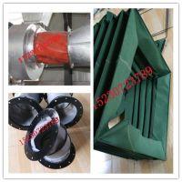 耐高温帆布软连接 风机除尘软连接 硅胶帆布软连接