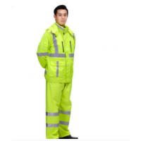 河南郑州交通安全服装安全雨衣反光雨衣厂家价格