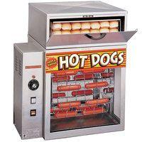 美国宝APW DS-1A下置储水箱制造蒸气,于20分钟内可蒸熟,容量可放150条热狗肠和60个面包