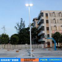 中山球场灯杆厂家 室外篮球场LED投光灯方案 体育场照明配套设施全面供应