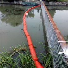 柏泰生产批发便捷式河道拦污浮筒 河道拦污浮体