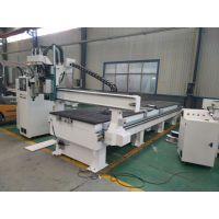 1325双工序排钻开料机板式家具生产线