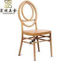 金属凤凰椅欧式拿破仑古堡椅 软包竹节椅