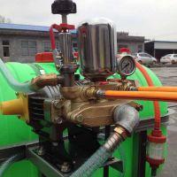 用手扶拖拉机带动手推高压喷雾器防疫消毒喷雾器