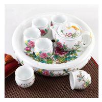 定制青花瓷茶具套装家用景德镇陶瓷中式功夫茶具整套