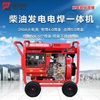 移动便携式250A发电电焊两用机