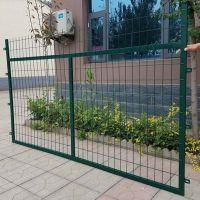 铁路围栏@聚光网栏厂浸塑框架防护栅栏