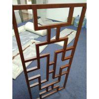 热转印橡木纹色铝窗花_25*40铝扁管铝窗花德普龙定购地址?