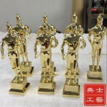 郑州市厂家定做大中小号鲁班奖杯,金属材质鲁班奖奖杯,中国建筑工程类奖杯批发