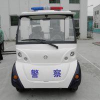 热销Q-04座敞开式巡逻电动车厂家,四轮电瓶治安巡逻车