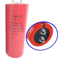 供应铝电解电容|直销capsun螺栓电解电容300V33000UF
