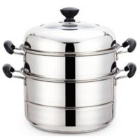 广通 蒸锅 不锈钢 锅 盆 碗 桶 壶 盘 厨具餐具炊具 不锈钢制品 厨房用品