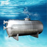 广州泳池水处理设备制造 卧式不锈钢砂缸厂家供应