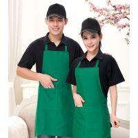 天河区男女牛仔围裙定制-服务员工作围裙定家居围裙-价格优惠