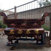 郑州哪里有卖寺庙香炉 铸铁大香炉摆件大气实用实惠