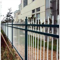 生产学校铁栅栏铁艺围栏锌钢护栏 喷塑隔离网 别墅工厂小区围墙护栏