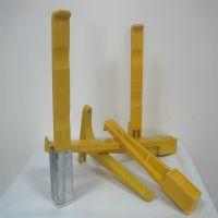 现货 组合式电缆沟支架500 定制 预埋式玻璃钢电缆沟支架 加工smc螺钉式支撑架